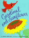 cardinal-and-sunflower